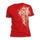 T-shirt hard style red