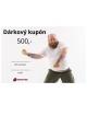 D�rkov� poukaz Fitness-market 500 K�
