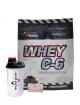 Whey C6 100% 2250 g + Testoplast 100 kapsl�