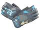 dámské Fitness rukavice VOODOO blue MFG921f