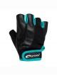 Zoe dámské rukavice černo zelené