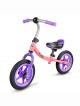 ONO Dětské odrážedlo nafukovací kola růžová