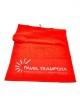 Ručník fitness-market červený 100 x 50 cm