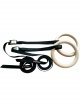 Gymnastické kruhy gymnastic wooden rings 4049
