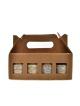 Dárková kazeta mix ořechových másel 8 x 60 g