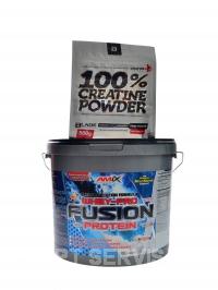 Whey Pro Fusion 4000g + 500g creatine