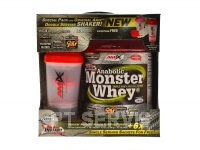 Anabolic Monster Whey + šejkr 2200 g BOX