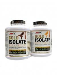 Gold Whey protein isolate 2 x 2280g + ručník