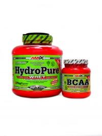 HydroPure hydrolyzed whey 1,6kg + BCAA 300g
