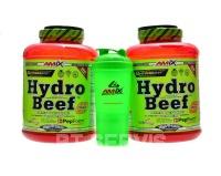 Hydrobeef protein 4000 g + šejkr monster