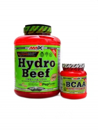 Hydrobeef peptide protein 2kg + BCAA 300g