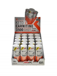 KETO Carnitine 3500 Shot 20 x 60ml
