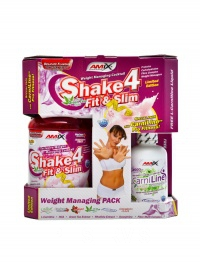 Shake 4 Fit & Slim 1000 g + Carniline 480 ml