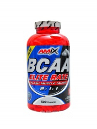 BCAA Elite rate 500 kapslí