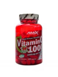 Vitamín C 1000mg + rose hips 100 kapslí