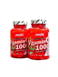 Vitamín C 1000mg + rose hips 200 kapslí ECO