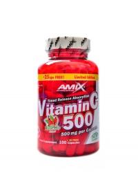 Vitamín C se šípkem 125 kapslí 500 mg