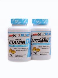 Vitamin D 4000 IU 2 x 90softgels + MDŽ kupon