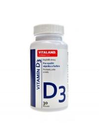 Vitamin D3 5mcg 30 kapslí