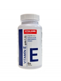 Vitamin E 400 IU 60 kapslí