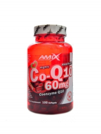 Coenzyme Q10 60mg 100 softgels tobolek