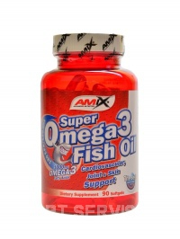 Super Omega 3 fish oil 1000 mg 90 kapslí