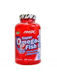 Super Omega 3 fish oil 180 kapslí 1000mg
