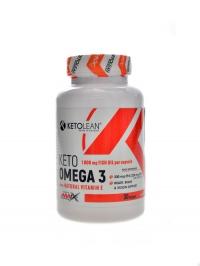 Keto Omega 3 with natural vitamin E 30 kapslí