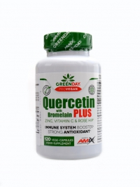 Quercetin with bromelain plus 120 vege kapslí