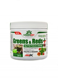 Greens & Reds + 250g