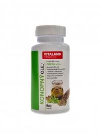 Konopný olej s omega 3-6-9 60 kapslí