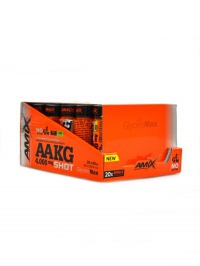 AAKG Shot 4000mg - 20x60ml BOX Lime
