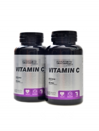 Vitamín C 800 mg with rose hip 2 x 60 tbl