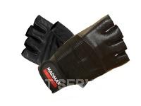 Fitness rukavice classic line black MFG248