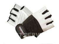 Fitness rukavice classic line white MFG248