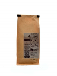 Káva VIETNAM canephora buon ma thout 200g