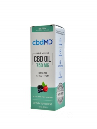 CBD Olejová tinktura 750 mg 30ml
