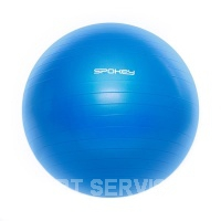 Fitball III gym.míč vč.pumpičky 75cm modrý