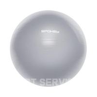 Fitball III gym.míč vč.pumpičky 75cm šedý