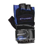 MITON Fitness rukavice modré