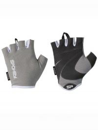 LADY FIT Dámské fitness rukavice, šedé