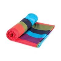Marsala rychleschnoucí plážový ručník 80x160