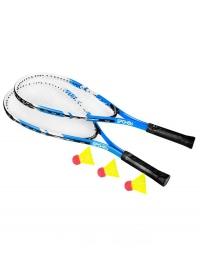 BUGY Sada na speed badminton 2xraketa 3xmíč