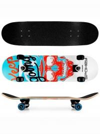 SKALLE Skateboard 78,7 x 20 cm, ABEC7