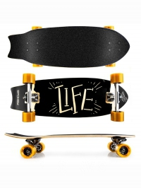 LIFE Longboard 67,5 x 25,5 cm, ABEC7