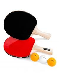 JOY SET-Sada pingpong, 2 pálky, 3 míčky