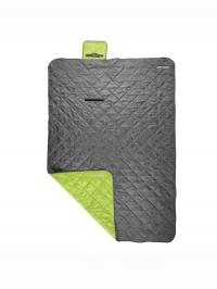 CANYON kempingová deka 200x140cm šedo-zelená