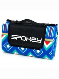 PANE Pikniková deka s popruhem 150x180 modrá