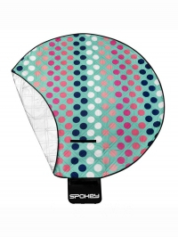 DOTS Pikniková deka kulatá, průměr 140 cm
