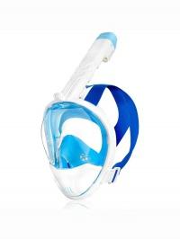 Karwi Celoobličejová potápěčská maska modrá